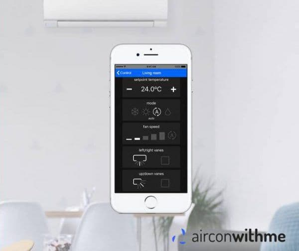 Aircoditioning wifi module